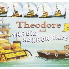 Theodore And The Big Harbor Race (move-along Board Book)