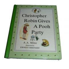 Christopher Robin Gives Pooh A Party