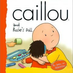 Caillou And Rosie's Doll (backpack (caillou))