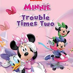 Disney Minnie Trouble Times Two Storybook