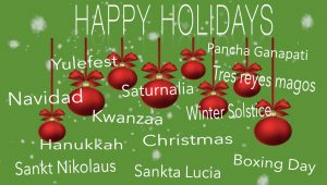 Friends @ Home Art Docent Webinar | Holiday Hoopla