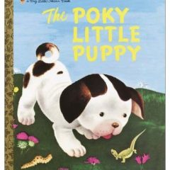 The Poky Little Puppy (Big Golden Book)