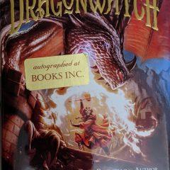 Dragonwatch: A Fablehaven Adventure (Autograhed Copy)