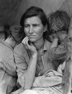 """Friends @ Home Art Docent Webinar   Dorothea Lange: """"That Such Things Could Be"""""""